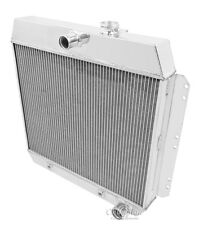 Champion 3 Row All Aluminum Radiator For 1949 - 54 Chevy Cars