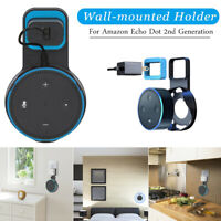 Smart Speaker Wall Mounted Outlet Stand Holder for Amazon Echo Dot 2nd Generatio