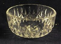 "Waterford crystal Carlow pattern signed 5"" bowl  j"