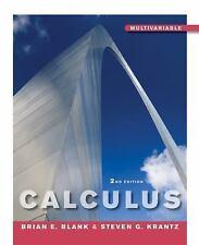 Calculus. Multivariable. 2nd edition. Blank, Krantz