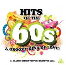 Hits of the 60s - A Groovy Kind Of Love - DRIFTERS - SUPREMES - TROGGS - 3 x CDs