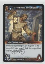 2011 #16 Stormwind Investigator Gaming Card 1i3