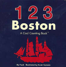 123 Boston: A Cool Counting Book by Puck (Board book, 2010)