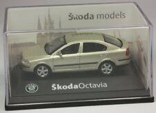 Abrex Skoda Octavia Limo goldmetallic Modellauto PKW 1:72 OVP ST 9903-90-98
