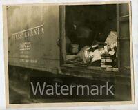 1940s vintage 8x10 photo  Pittsburgh PA area PT22 Railroad train Pennsylvania