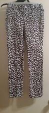 Leopard Print Skinny Jeans Size 14