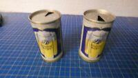 2 leere Bierdosen Schloßberg Edel Pils vintage  W2947