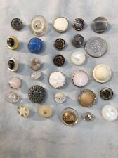 Vintage  And Antique   (Unique Assorted Sewing Buttons)