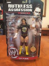 CM Punk WWE Ruthless Aggression Series 33 Action Figure Championship Belt NIB