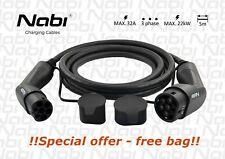 Ladekabel für Elektroautos/EV charging cabel 5m/T2-T2/3phase/max.22 kW/max.32A