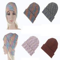 Unisex Men Women Warm Winter Knit Ski Beanie Cap Hat Crochet Outdoor Skateboard