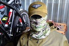 Russian army Scarf Face Mask Balaclava Multicam camo