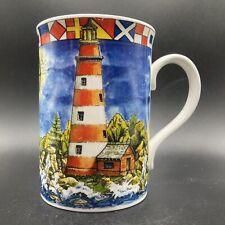 "More details for royal grafton ""lighthouses"" fine bone china mug made in england"