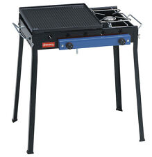 FERRABOLI BARBECUE A GAS Ghisa Combinato 71x48x69 2 fuochi GPL art.92