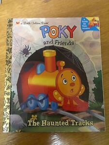 Poky and Friends - The Haunted Tracks (Little Golden Book) H/C