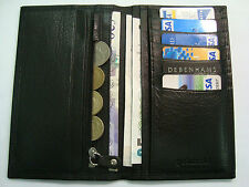 Soft Leather Man's Wallet Tall Large Size TOP BRAND Golunski RFID Protected