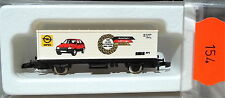 100 J. Automobile Opel Wagon Transport De Conteneurs Kolls 86502 Märklin 8615 Z