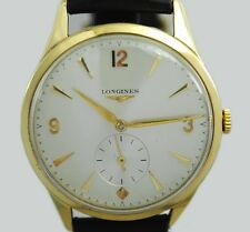 18K YELLOW GOLD CASE LONGINES WATCH
