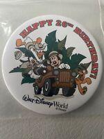 Walt Disney World WDW Button Pin - Cast Member Happy 26th Birthday 4 Safari