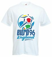 JUMBO Vintage Retro England Euro 96 Football T Shirt MENS WOMENS COMING HOME TOP