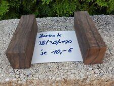Drechselholz Edelholz Messergriffblock Ziricote