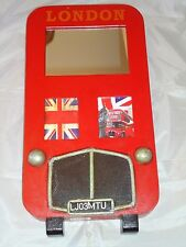 Red London Bus Key Box Cabinet Retro Style Hand Made -Garage / A Nice Gift