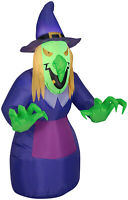 Halloween 4ft Spooky Scary Witch Airblown Yard Inflatable by Gemmy Industries