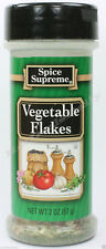 Spice Supreme® VEGETABLE FLAKES new fresh USA MADE seasoning spices cooking jars