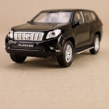 2013 Toyota Landcruiser Black Prado Die-Cast Model Car Collectible Welly Detail