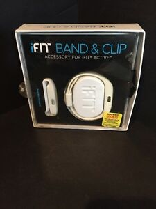 iFIT BAND & CLIP In White NEW Open Box (Pod Not Included)