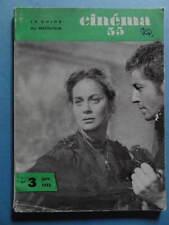 Cinéma 55 n° 3 1955 Danielle Darrieux Jacques Tati cinéma argentin Varsovie
