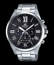 EFV-500D-1A Black Men's Watches Casio Edifice Chronograph 100m World time New