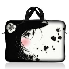 "17"" 17.3"" Laptop Notebook Sleeve Bag Case w Handle Girl 17-SD22"