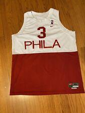 NBA Philadelphia 76ers Allen Iverson Nike Phila Jersey Men's XL Read Description