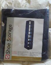 SHOE STORAGE blue Closet Hanging Shelves Space Saver Organizer Rack Hanger NEW