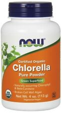 Chlorella Pure Powder Now Foods 4 oz Powder