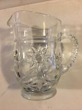New listing 5+ in. Glass Pitcher