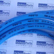 FESTO 197387 PLASTIC TUBING PUN-H-12X2-BL OD 12MM X ID 8MM BLUE (10M/32.80FT)