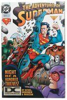 Adventures of Superman 520 DCU DC Universe Variant VF+ 8.5 DC Comics Feb 1995