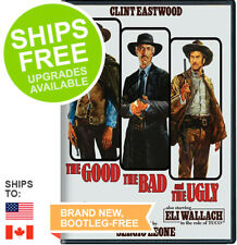 The Good, The Bad and The Ugly (DVD, xxxx 50th Anniversary) NEW Clint Eastwood