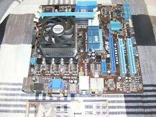 ASUS M4A785T-M, Socket AM3, AMD Motherboard, Athlon II X4 640 3.00Ghz IO Plate