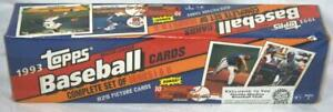 1993 TOPPS BASEBALL CARDS SEALED FACTORY MARLINS INAUGURAL L.E. SET-JETER ROOKIE