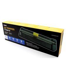 TEXET A4 Papel Cortadora Guillotina diferentes cuchillas 5 hojas de capacidad TTA4-V