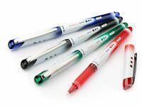 3 x Pilot V BALL Grip 05 Liquid Ink Rollerball Pen - BLN-VBG5 - FINE Tip