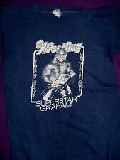 Vintage WWWF Champion Superstar Billy Graham T-Shirt (1977), Adult Size Small