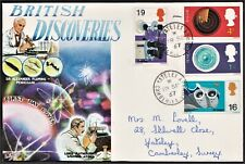 GB 1967 TOVEY FIRST DAY COVER BRITISH SCIENTIFIC DISCOVERIES SG752-755