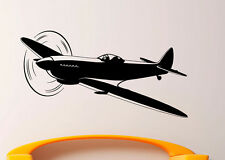 Airplane Aircraft Wall Decal Vinyl Sticker Aviation Interior Art Decor (4air4)