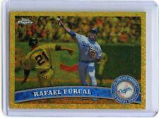 2011 TOPPS Chrome #169 Rafael Furcal CANARY DIAMOND!!! 1/1!!! (DODGERS)