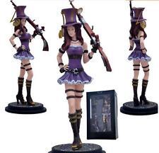 DZ1047 LOL League of Legends Piltover Caitlyn Action Figure Toys big size 26cm