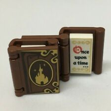New ~ Lego Minifigure Gold Trim Once Upon A Time Story Book  Disney Castle 71040